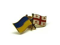 Значок для коллекции Украина-Грузия
