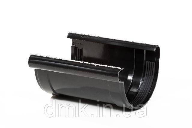 З`єднувач ринви Profil 130 чорний