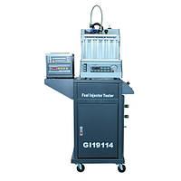Установка для диагностики и чистки форсунок (6 форсунок, тележка, ультразвуковая ванна с таймером) G.I. KRAFT GI19114