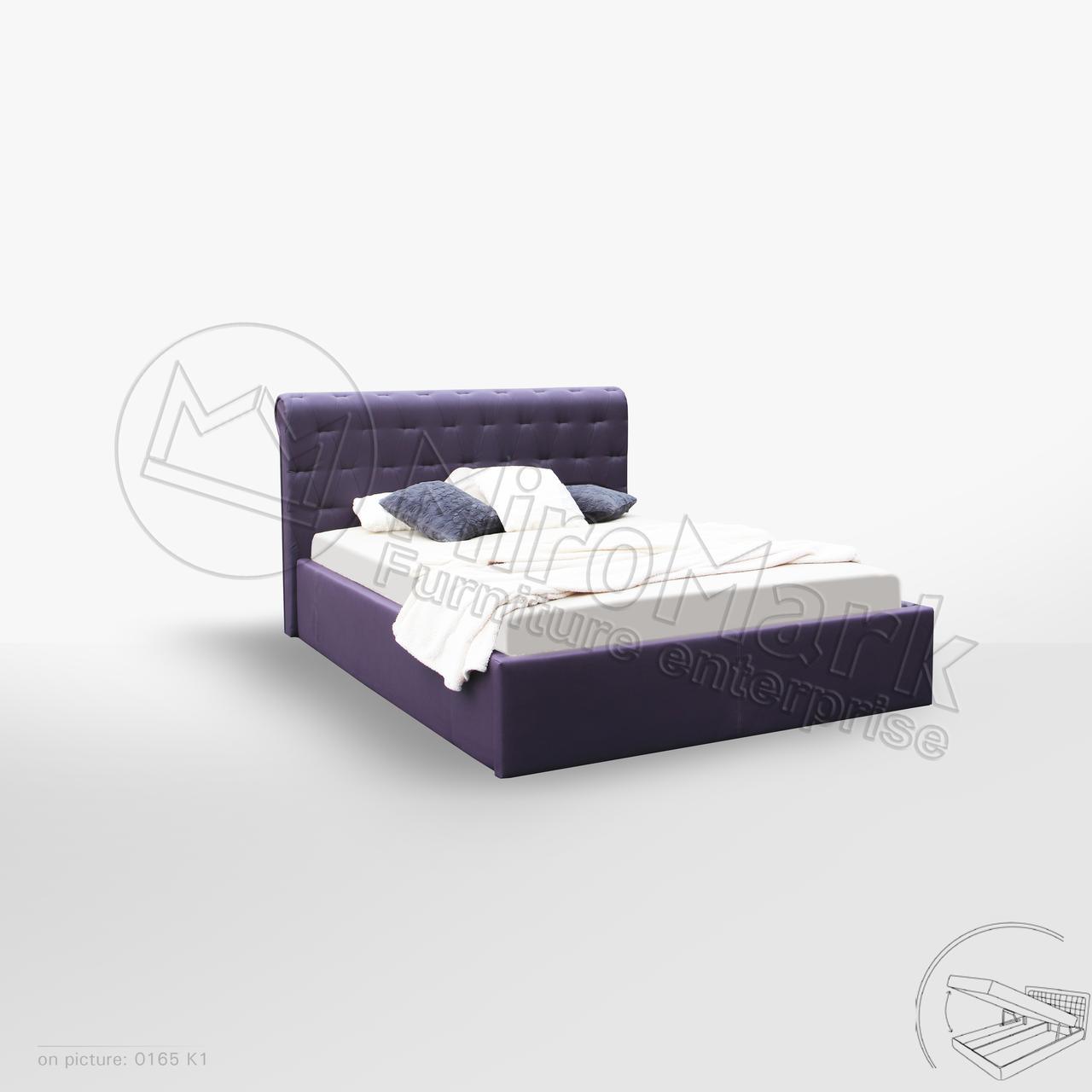 Кровать Манчестер 1,80 м. (ассортимент цветов)