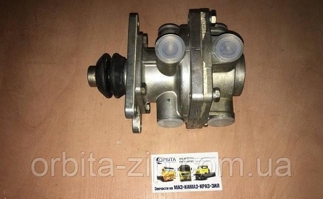 11.3514208 Кран гальмівний 2-секційний КАМАЗ, ЗІЛ для підвісної педалі (пр-во ПААЗ)