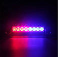 Яркий LED стробоскоп под лобовое стекло (в прикуриватель, на присосках), фото 7