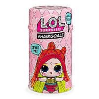 Кукла LOL surprise Hairgoals с волосами в капсуле НОВАЯ СЕРИЯ -Модное перевоплощение- аналог, фото 1