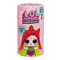 Кукла LOL surprise Hairgoals с волосами в капсуле НОВАЯ СЕРИЯ -Модное перевоплощение- аналог