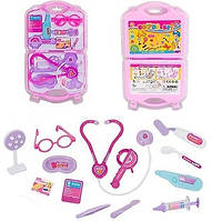 Набор доктора в чемодане , цвет - розовый , код  8007-1, размер 39*23 см