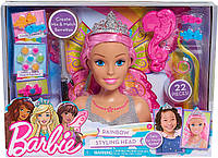 Набор голова куклы Барби создания для причесок,  Barbie Dreamtopia Styling Head, фото 1