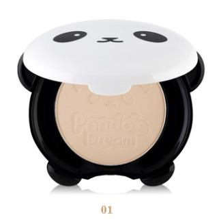 Матирующая компактная пудра для лица Tony Moly Panda`s Dream Clear Pact #1 Vanilla – светло-бежевый