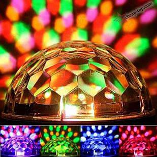 Диско-шар LED Magic Ball Light с Bluetooth