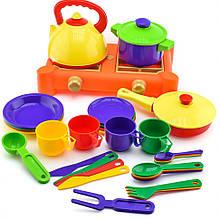 Набор посуды с газовой плитой (34 пр.) 71047