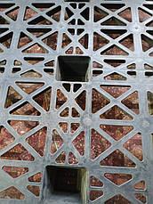Легкий пластиковый поддон на ножках PP 1200x1000x140мм б/у, фото 2