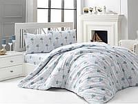 Семейный комплект постельного белья Arya Кретон Avin 160x220x2