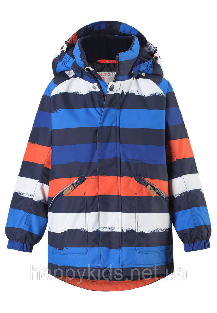 Зимняя куртка для мальчика Reimatec Nappaa 521613-2775. Размеры 122 - 140.