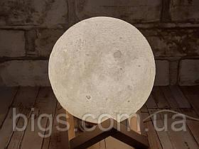 Ночник детский светильник Луна сенсорный 15см 5 цветов