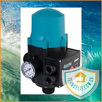 Автоматика Aquatica 779534 (DSK2.1P) 1.1 кВт. Регулятор давления. Датчик давления. Контроллер. Реле давления.
