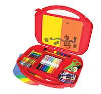 Набор для творчества в чемоданчике, Crayola, красный (04-2704-2)