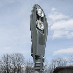 Прожектор світлодіодний вуличний на стовп 100W 6000K 11000LM IP65 Luxel