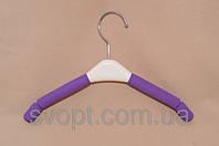 Плечики - вешалка детская поролоновая разного цвета
