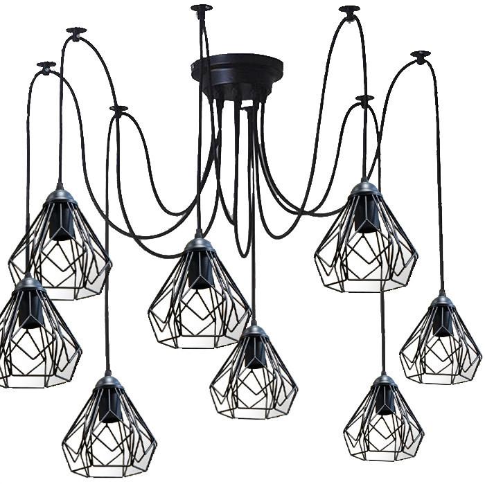 Люстра павук на п'ять плафонів NL 538-5 MSK Electric