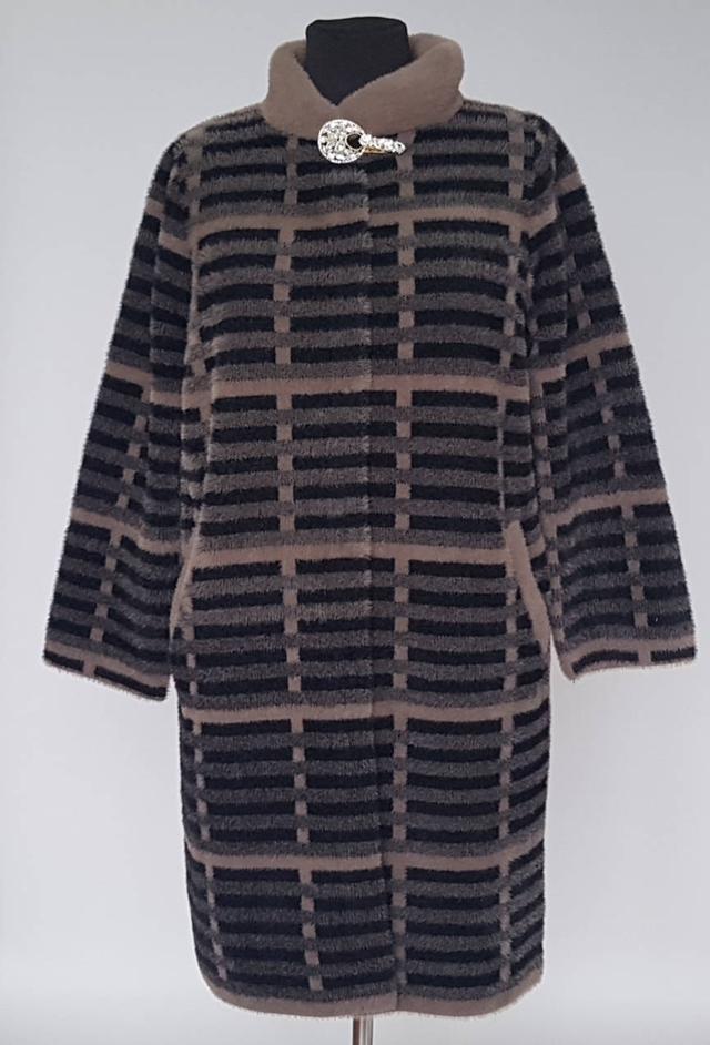 фотография пальто женское меховое большого размера