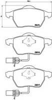 Комплект тормозных колодок, дисковый тормоз P 85 085 BREMBO