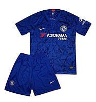 Футбольная форма Челси сезон 19/20 детская (синяя) + гетры в подарок