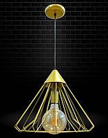 Светильник подвесной в стиле лофт NL 0539 G
