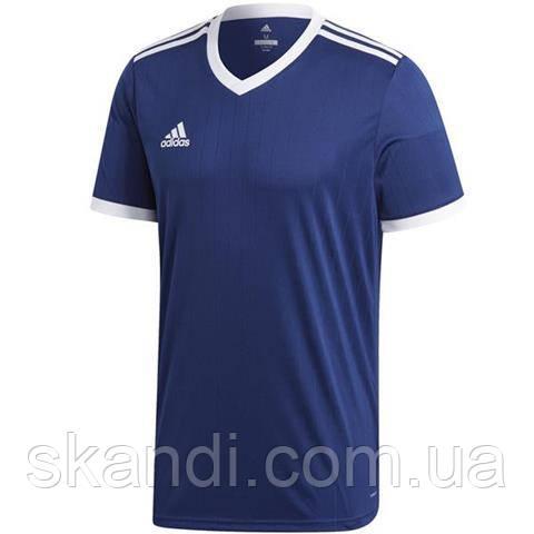 Футболка мужская adidas Tabela 18 Jersey синяя CE8937