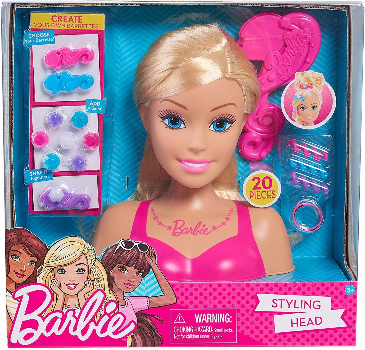 Набор голова куклы Барби для причесок, Barbie Styling Head