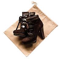 Мешок-пыльник для обуви с затяжкой ORGANIZE HO-01-1 бежевый