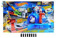 """Игровой набор Hot Wheels """"Световой удар"""" 7909 / Трек-запуск """"Hot Wheels"""" со светом / машинка меняет цвет"""