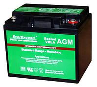 Акумулятор 12В, 40Аг, типу AGM, необслуговуваний, стаціонарний, VRLA