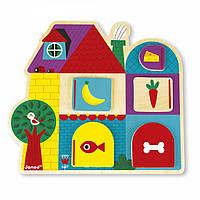 Розвиваюча іграшка Janod Хто за дверима? J08183