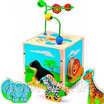 Універсальний куб Світ дерев'яних іграшок Сафарі Серія Д (Д373)