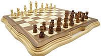 Деревянные шахматы 40*40 см.