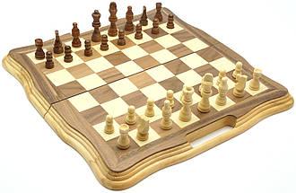 Деревянные шахматы 40*40 см., фото 2