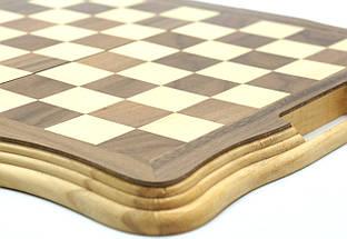 Деревянные шахматы 40*40 см., фото 3