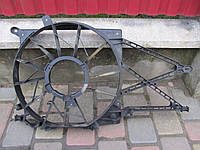 Диффузор основного радиатора для Opel Astra G Zafira A 1.6 1.8 2.0DTi, 90572751, 0130303833, 90570736