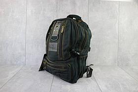 Рюкзак городской брезентовой Gold Be 1304 (черный)