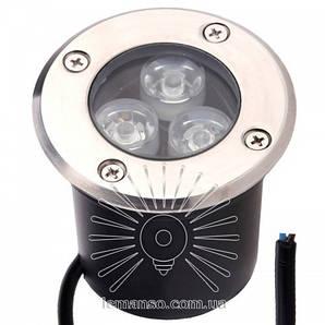 Тротуарный светильник 3W 6500К LM986 Lemanso