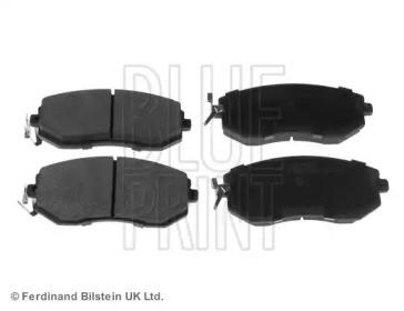 Комплект тормозных колодок, дисковый тормоз ADT342196 BLUE PRINT