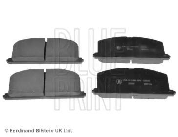 Комплект тормозных колодок, дисковый тормоз ADT34279 BLUE PRINT