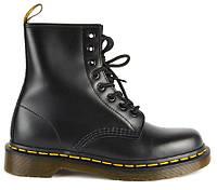 """Демисезонные Женские Ботинки Dr. Martens 1460 *Без Меха* """"Black"""" - """"Черные"""" (Копия ААА+)"""