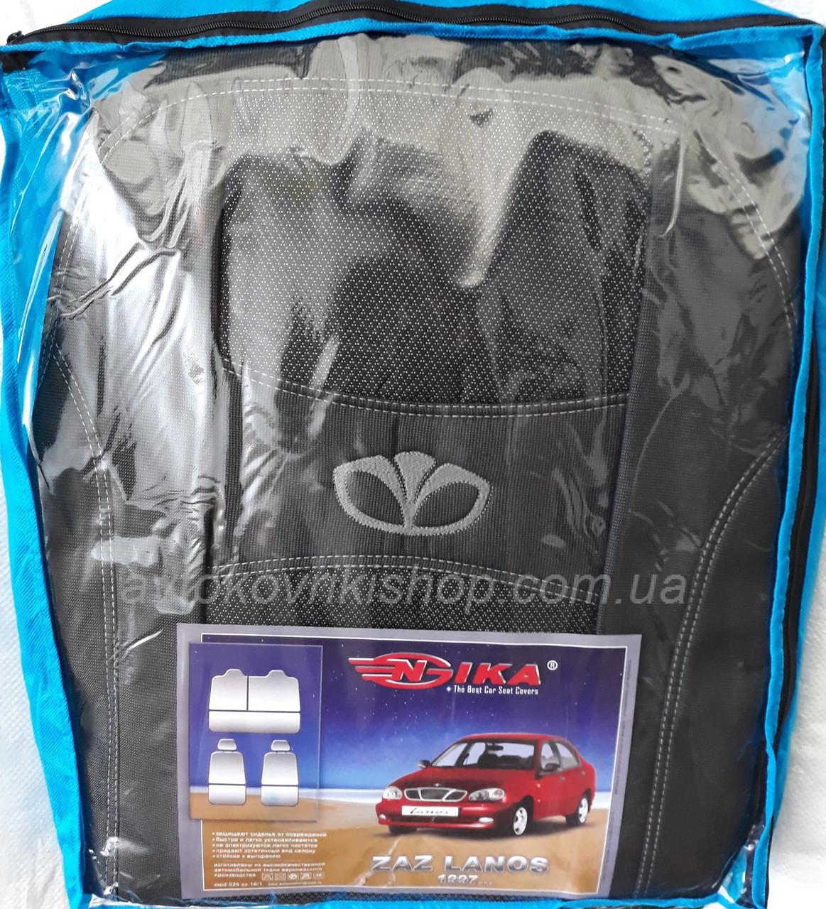 Чехлы на сидения ЗАЗ Lanos 1997- COPER Nika