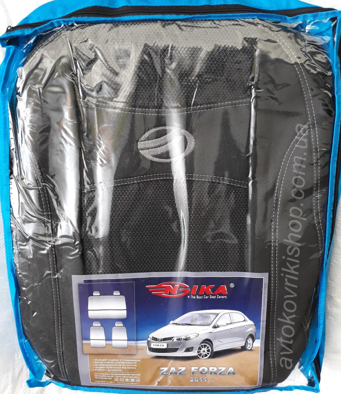 Чехлы на сидения ЗАЗ Forza 2011- COPER Nika