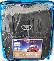 Авточехлы Daewoo Matiz HB 1998- (тёмно-серый) Nika, фото 1