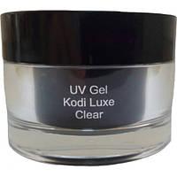 Гель для нарощування нігтів Kodi UV Gel KODI Luxe Cleargel (прозорий гель), 14 мл