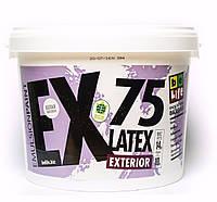 Фасадная дисперсионная краска Latex Exterior EX75, 10л