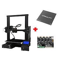 Индивидуальная версия Creality 3D® V-слот Ender-3X / Ender-3Xs 3D-принтер Prusa I3 Размер печати Набор 220x220x250 мм со съемным стеклом Пластина