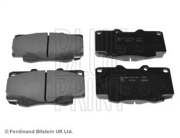 Комплект тормозных колодок, дисковый тормоз ADT342160 BLUE PRINT