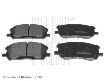 Комплект тормозных колодок, дисковый тормоз ADT342153 BLUE PRINT
